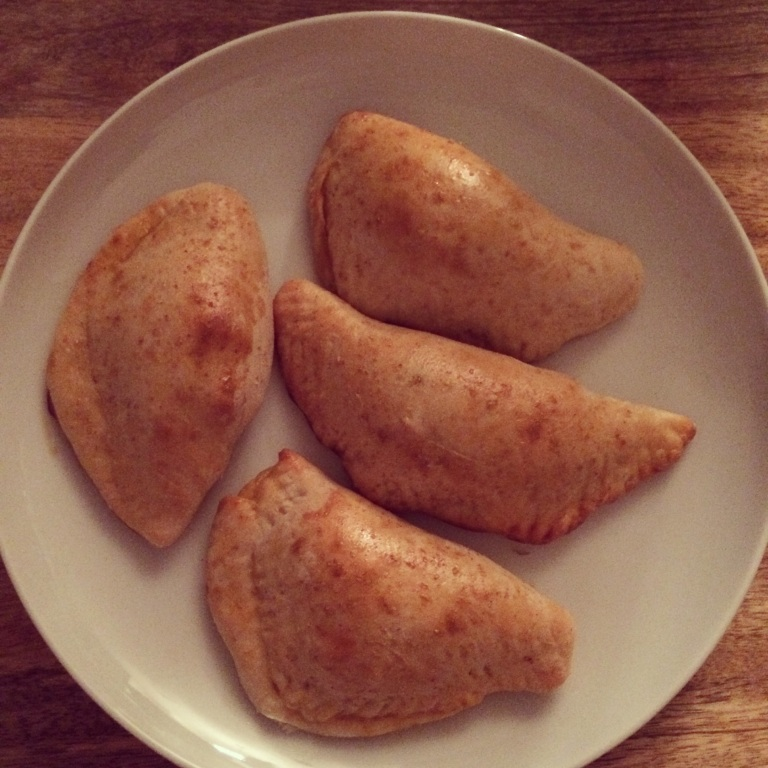 THE NEW TACO TUESDAY: Pizza Dough Spicy Chicken Empanadas