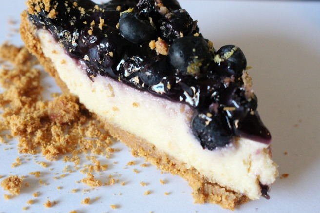 SWEET: Lemon Blueberry Vegan Cheesecake