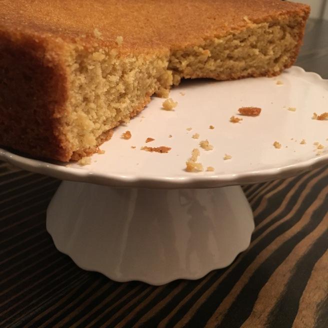 BAKE ME: Orange Olive Oil Cake with Orange Sauce