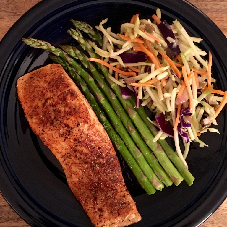 THE NEW TACO TUESDAY: Mexican Salmon with Simply Roasted Asparagus