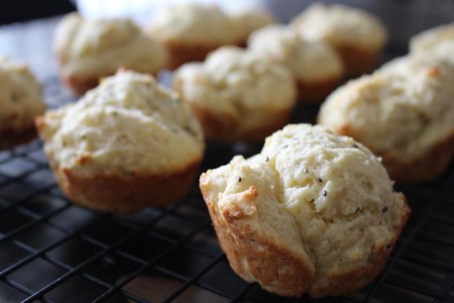 BAKE ME: Meyer Lemon Chia Seed Muffins