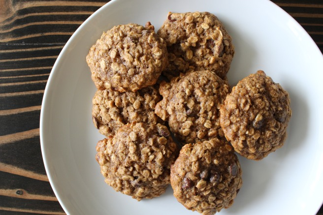 BAKE ME: Banana Chocolate Chip Oatmeal Cookies