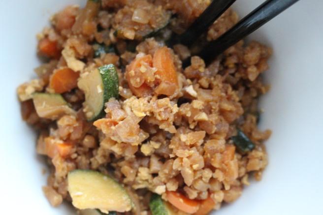 VEGGIES: Cauliflower Fried Rice
