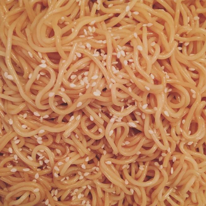 SIDE DISH: Sesame Noodles